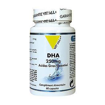 DHA 250mg - Eteerinen rasvahappo 60 kapselia
