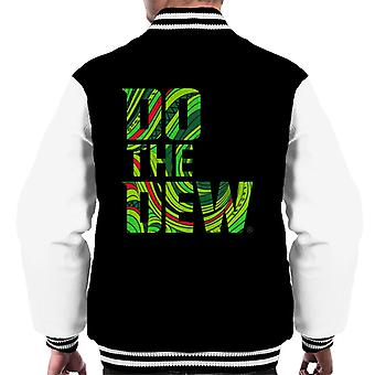 Mountain Dew Do The Dew Slogan Men's Varsity Jacket