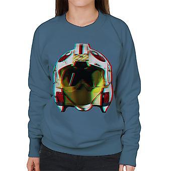 Opprinnelige Stormtrooper Rebel Pilot hjelm 3D effekt kvinners Sweatshirt