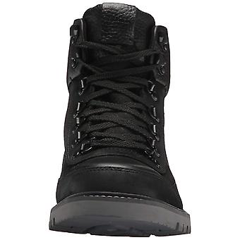 Cole Haan Mens Keaton Hiker WP II Leather Closed Toe Ankle Military Boots