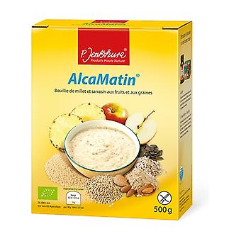 AlcaMatin, Papa de Milho e Sarraceno com Frutas e Sementes Bio 500 g de pó