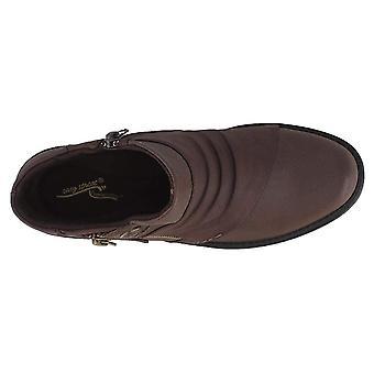 Easy Street Womens Sable amêndoa Toe Ankle Boots de moda