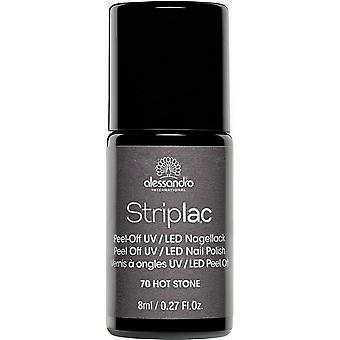 StripLAC Peel Off UV LED Nail Polish - Hot Stone 8ml (70)