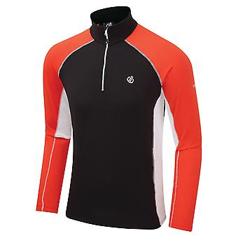 Durf 2b Mens Interfused II Lichtgewicht Half Zip Trui