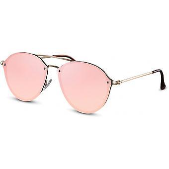 النظارات الشمسية المرأة بانتو الذهب / الوردي (CWI2235)