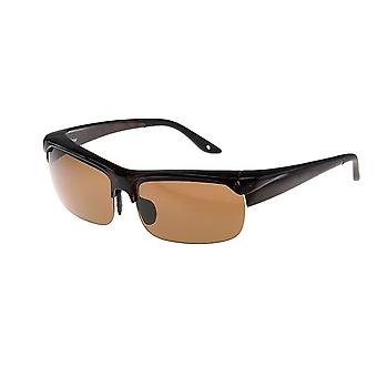 Sunglasses Unisex brown with brown lens VZ0018B