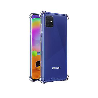 Samsung A31 Case Transparent - Anti Shock