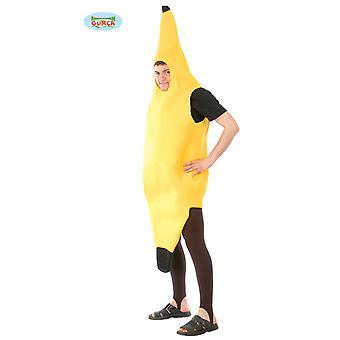 Banana Costume adulto unisex Carnevale