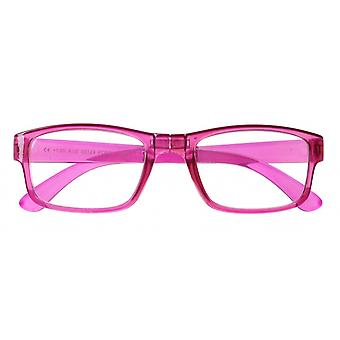 Reading Glasses Women Foldable Pink Strength +2.50