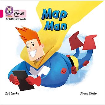 Map Man Big Book by Clarke & Zoe
