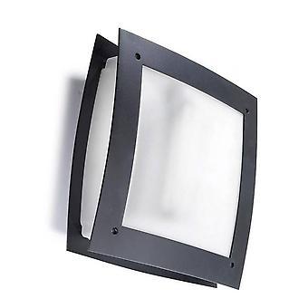 Leds-C4 Darwin - 1 Lys Udendørs Wall Light Urban grå IP54, E27