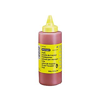 Stanley Tools Chalk Refill 225g (8oz) Red STA147804