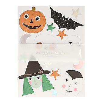 Meri Meri Halloween Party Tarrat liikkuvilla silmillä 5 arkkia