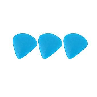 3PCS Mixed Natural Blue Water Drop Type Guitar Picks Finger Pick