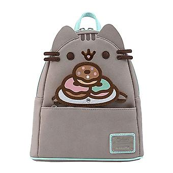 Pusheen Mini Backpack Plate O Donuts Logo new Official Loungefly