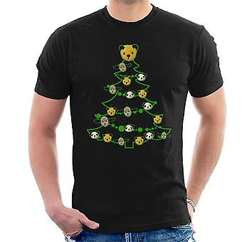 Roetveegping Green Silhouette Men's T-shirt