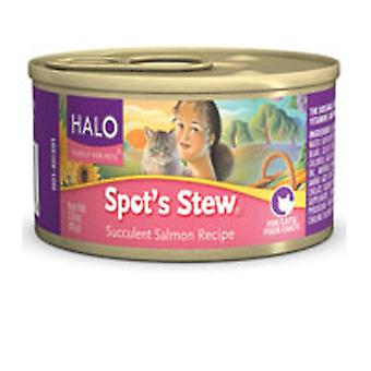 Halo Purely For Pets Canned Cat Food, Salmon 3 Oz