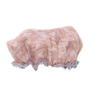 Danielle Creations Rosy Shimmer Shower Cap