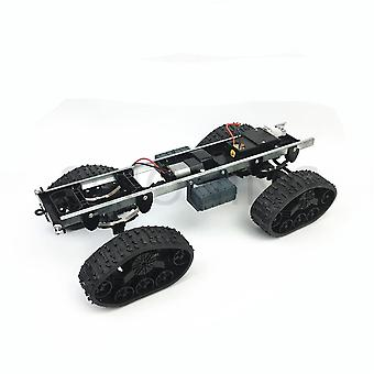 All-terrain Rubber Track Wheel Roboter Chassis Military Truck Klettern Modifiziert