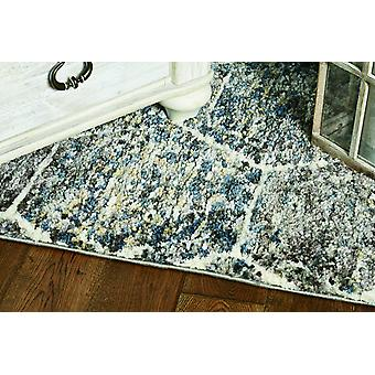 "39"" X 59""  Grey or  Teal Polyester Rug"