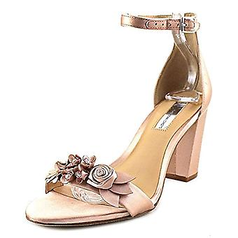 INC International Concepts Womens Kacee Fabric Open Toe Special Occasion Ankle Strap Sandals