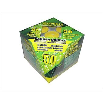 Home Hardware Outdoor Citronella Tealights Yellow x 50