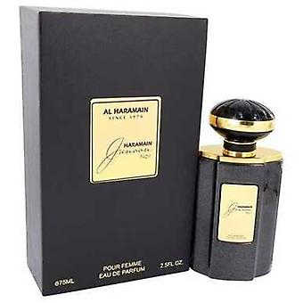 Al Haramain Junoon Noir by Al Hara Main Eau de Parfum Spray 2,5 oz (naiset) V728-542159