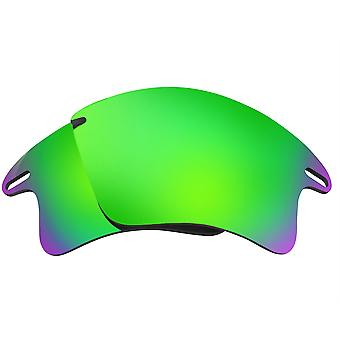 Replacement Lenses for Oakley Fast Jacket XL Sunglasses Anti-Scratch Green
