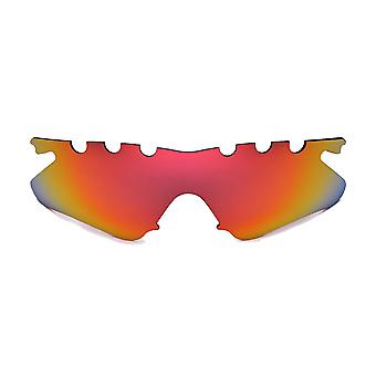 Polarized Replacement Lenses for Oakley M Frame Heater Sunglass Vented Red