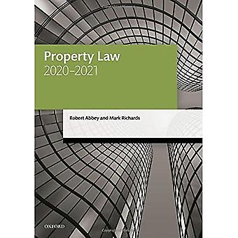 Property Law 2020-2021 (Legal Practice Course Manuals)