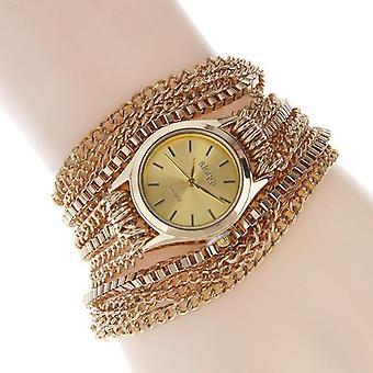 SLOGGI Retro Zinc Alloy Three Times Around Bracelet women Quartz Watch