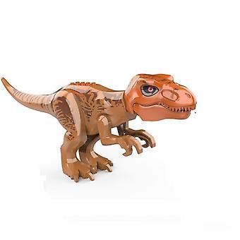 Brutaali Raptor-rakennus Jurassic Blocks, Dinosaur-hahmojen tiilet