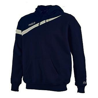 Mitre Polarize Navy White Mens Pullover Hoody T50108 NE7 A23C