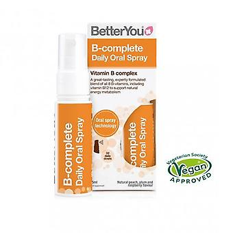 BetterYou B-complete Oral Spray 15ml