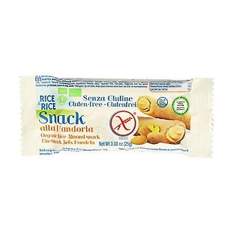 Organic Rice with Almond Snack 25 g