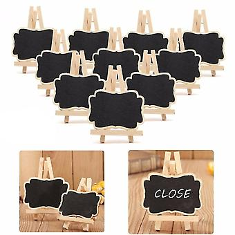 10 Pcs/set Mini Wooden Blackboard