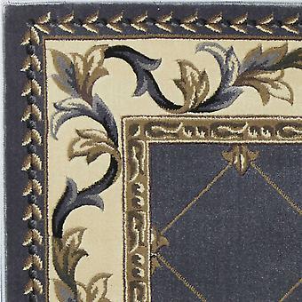 "20 ""x 31"" polypropyleen blauw gebied tapijt"