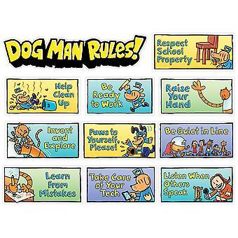 Dog Man Class Rules Mini Bulletin Board Set