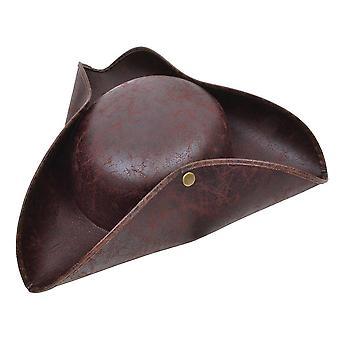 Bristol novità bh558 tricorn cappello marrone aspetto antico, unisex-adulto, una taglia 1