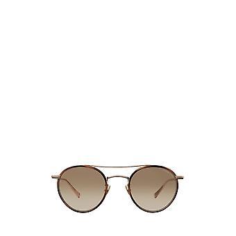 Garrett Leight RIMOWA X GLCO SUN demi blonde-gold unisex sunglasses