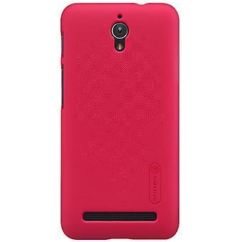 Skridsikker hårdt beskyttende etui til Zenfone C ZC451CG - Rød