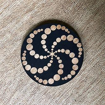 Painted Crop Circle Magnet