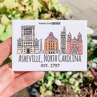 Historic Asheville Nc Magnet