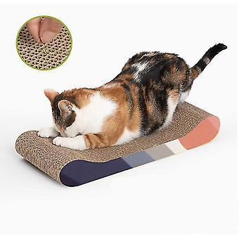 Pranchas de arranhador de gato, arranha-gatos de corrugate largos, brinquedos de gato
