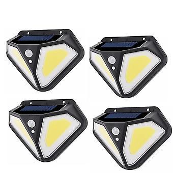 Led-wall Lamps Solar Lamp Pir Motion Sensor 3 Modes Outdoor Solar Garden Light