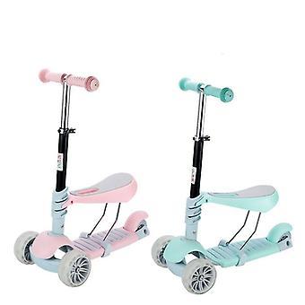 Børn scooter trehjulet baby 5 i 1 balance cykel