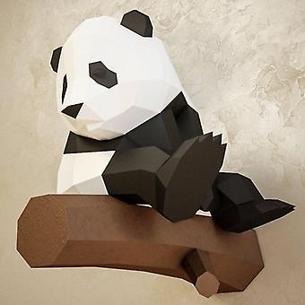 Animal 3d Paper Model Panda Papercraft