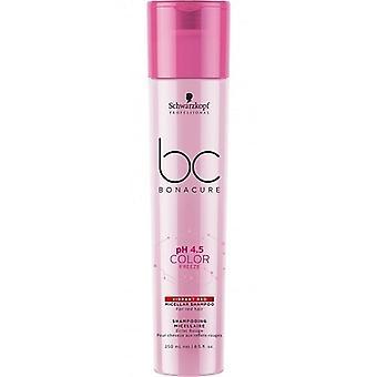 Schwarzkopf Bc Ph 4,5 Värijäädytys Intense net shampoo 250 ml