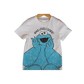 Sesame Street Childrens/Kids T-Shirt (Pack Of 2)