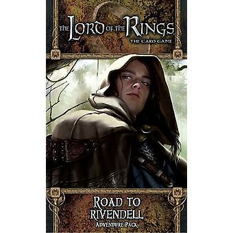 سيد الخواتم الطريق إلى Rivendell مغامرة حزمة المعيشة ألعاب بطاقة